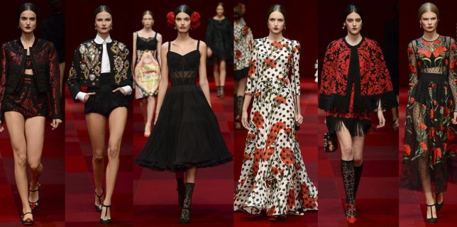 Dolce&Gabbana Primera Verano 2015 Mujer (12)