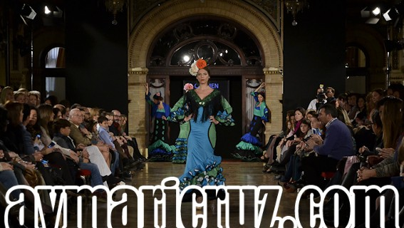 Desfile de Carmen Fitz en We Love Flamenco 2015