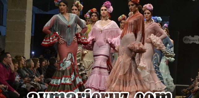 Faly de la Feria al Rocío Pasarela Flamenca de Jerez 2016 1-2
