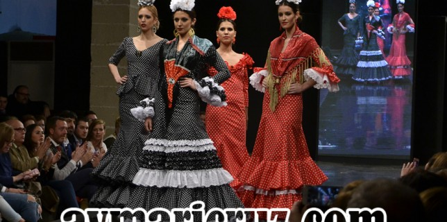 Rocío Martín Pasarela Flamenca Jerez 2016 30